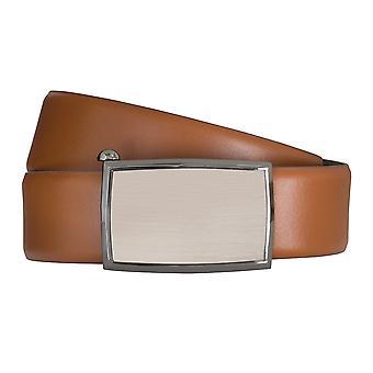 Cinturones cuero automático del cinturón correa correas de hombres LLOYD coñac 6593