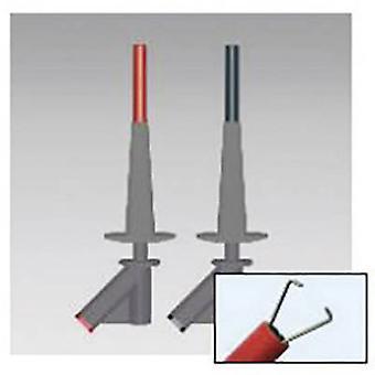 BEHA Amprobe 370024 turva liitäntä sarja 4 mm pisto rasia CAT III 1000 V punainen, musta
