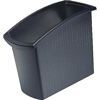 HAN Cestino di carta sprecano 18 l (L x W x H) 194 x 450 x 345 mm Nero 1 pc