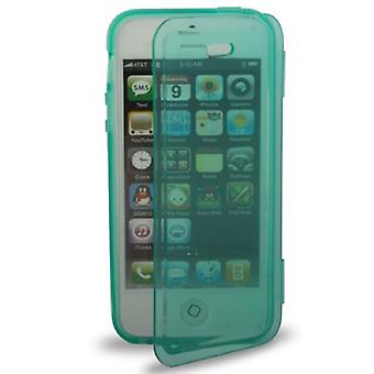 Horizontal Folding Case TPU Phone Case for iPhone 5 /5s