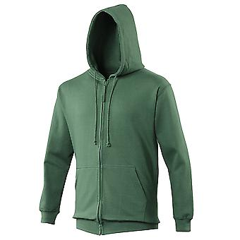Awdis Mens Colours Zoodie Full Zip Chunky Hooded Jacket S,M,L,XL,XXL