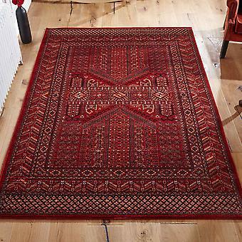 Real tapetes clássicos 635 R em vermelho