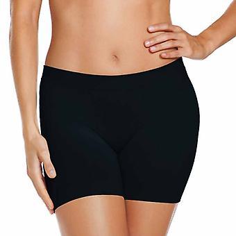 Jockey Womens Skimmies Microfibre Underwear Slipshort-Black-Small-short-UK8