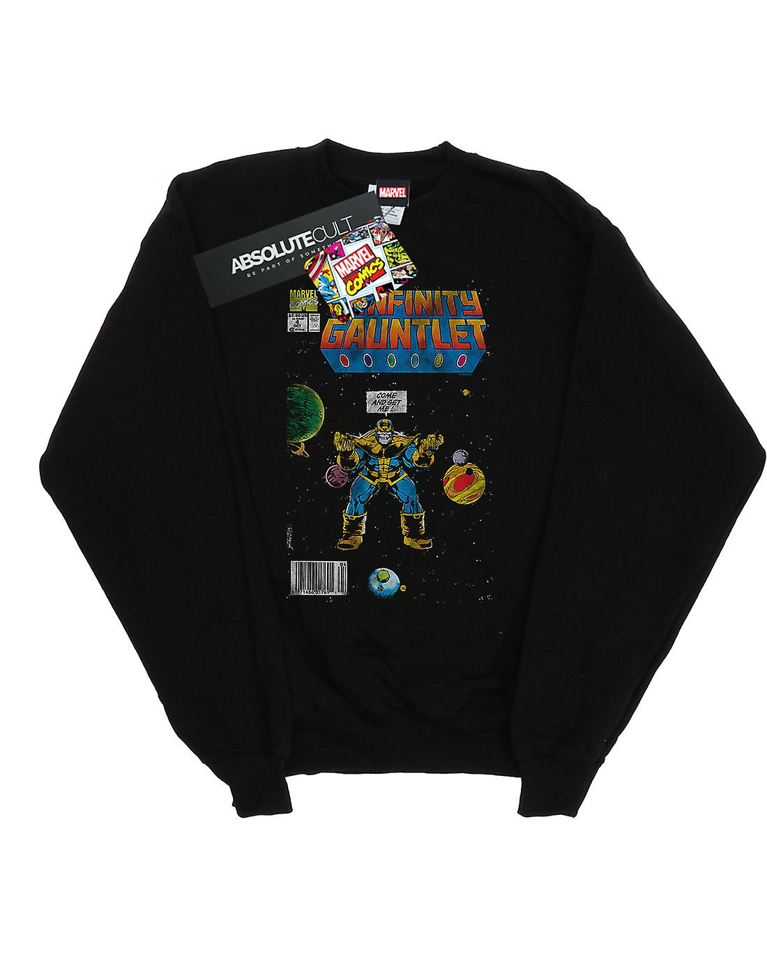 Marvel Comics Women's Infinity Gauntlet Sweatshirt