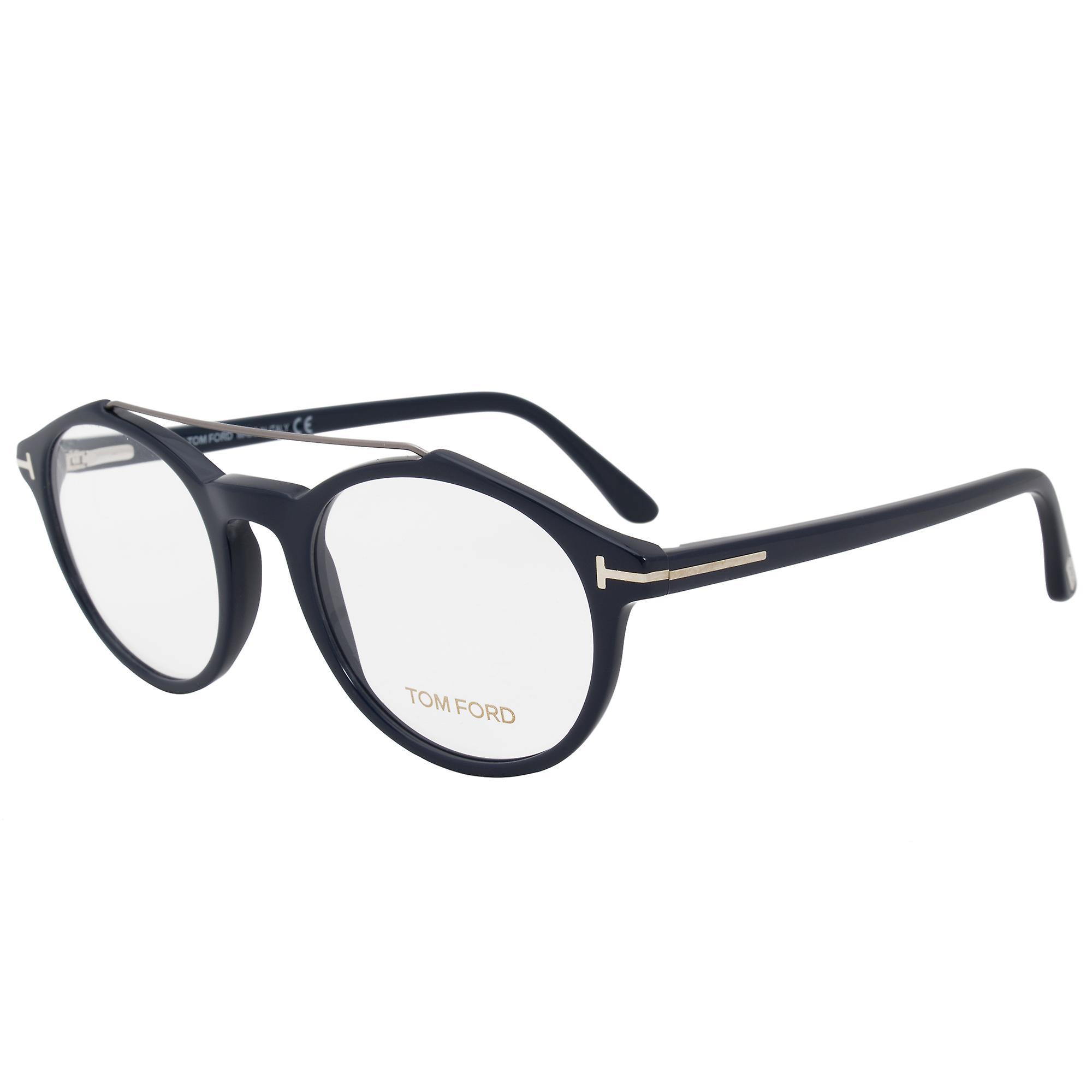 Tom Ford FT5455 90 Round | Blue| Eyeglass Frames
