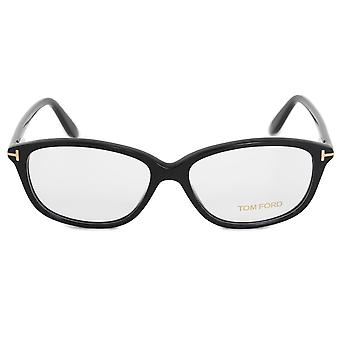 Tom Ford FT5316 001 54 Square | Sort | Monokel ramme