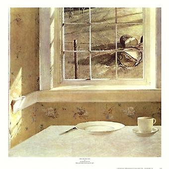 Ground Hog Day Poster Print by Andrew Wyeth (20 x 20)