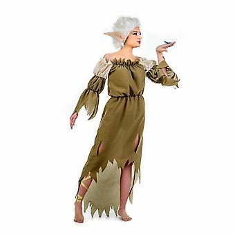 Señora de Elf traje traje de las señoras de ama de Elbenfrau Elf David Woods