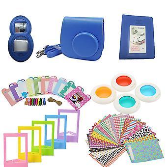 Set di accessori per Fujifilm Instax Mini 8/9-Cobolt Blue