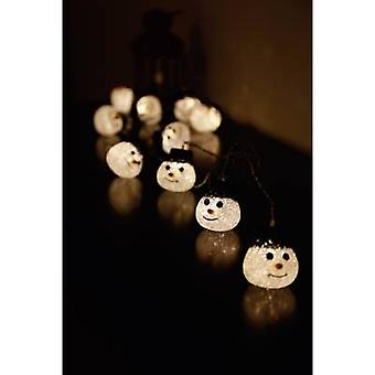Polarlite 679994 Holiday lights (motif) Snowmen Outside mains-powered No. of bulbs 10 LED (monochrome) Warm white Illuminated length: 2.7 m