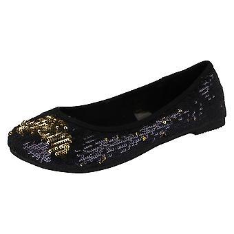 Piger Spot-On Ballerina flade sko
