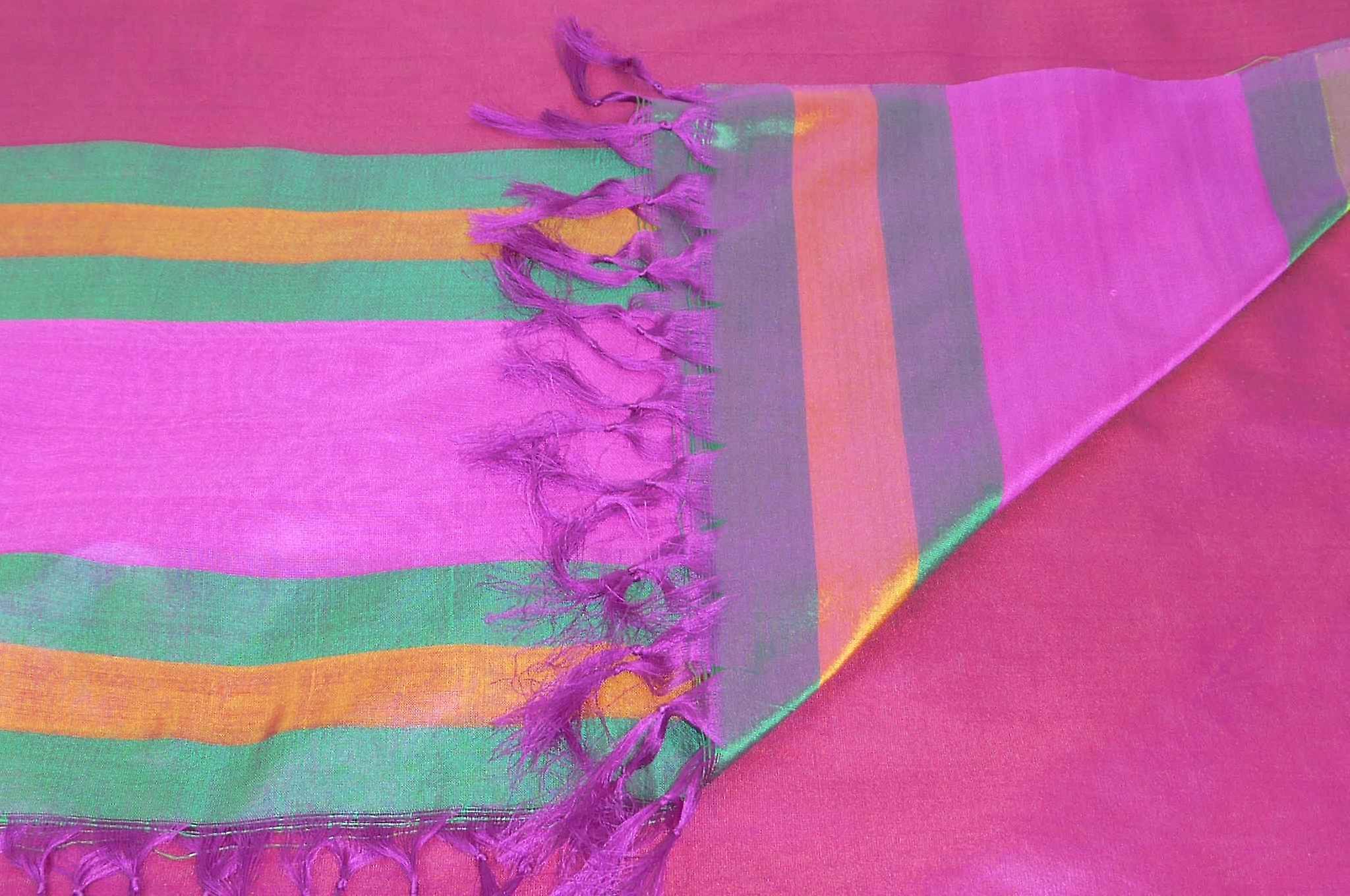 Varanasi Border Prime Silk Long Scarf Heritage Sandeep 312 by Pashmina & Silk