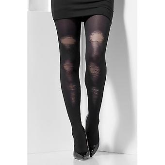 Collants opaques, noirs