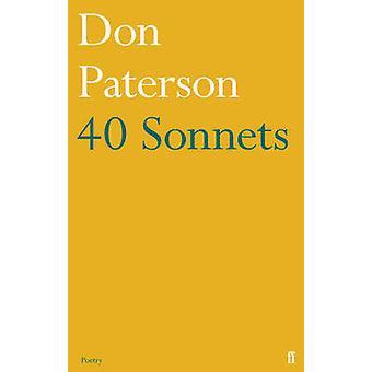 40 Sonetti (Main) di Don Paterson - 9780571310890 libro