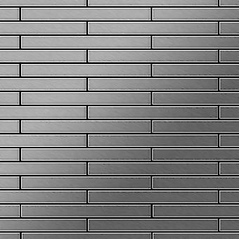 Metal mozaik rozsdamentes acél ötvözet Avenue-S-S-MB