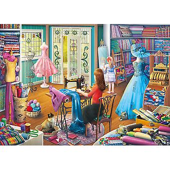 Gibsons The Dressmaker's Daughter Jigsaw Puzzle (1000 pieces)