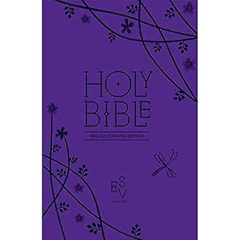 Bibeln: Engelska Standard Version (ESV) amerikaniserat kompakt lila gåva edition med zip (Bibeln Esv)