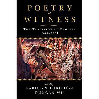 Poesi av vitne: tradisjon i engelsk, 1500-2001