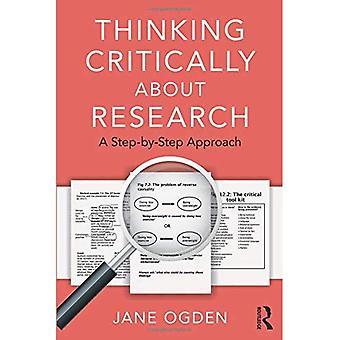 Tenker kritisk om forskning: en trinnvis tilnærming