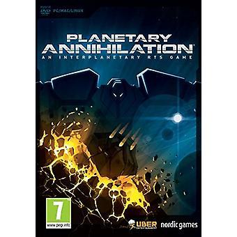 Planetary Annihilation (MacPC DVD)-ny