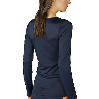 Mey 56202-408 Women's Emotion Night Blue Long Sleeve Top