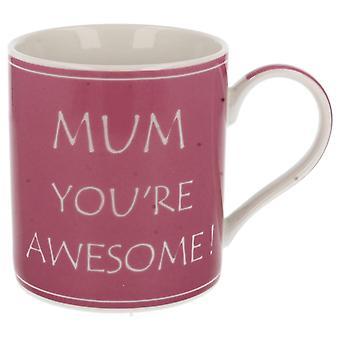 Lesser & Pavey Mum Your Awesome Fine China Mug Lp33272