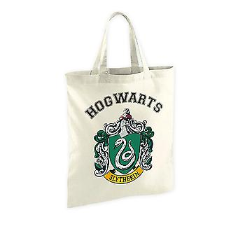 Borsa in tessuto Harry Potter Slytherin Crest, stampato, 100% cotone.