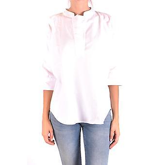 Woolrich Ezbc033028 Women's White Cotton Shirt