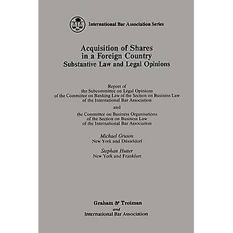 Acquisition of Shares in a Foreign Country by Gruson & Michael