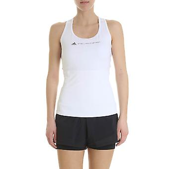 Adidas by Stella Mccartney Cf4154 Damen's weißes Nylon Top
