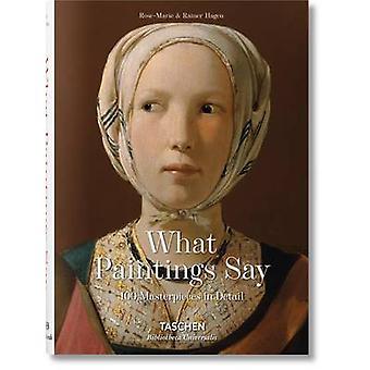 Vad målningar säger - 100 mästerverk i detalj av Rose-Marie Hagen -