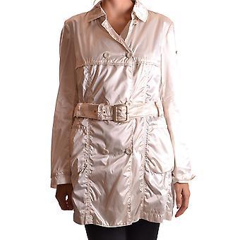 Geospirit Ezbc203020 Women's White Nylon Outerwear Jacket
