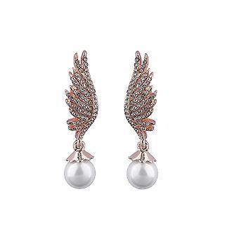 Intrigue femmes/dames aile boucles d'oreilles