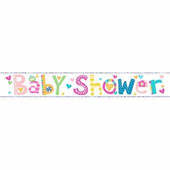 Simon Elvin Baby Shower Decorative Foil Banner