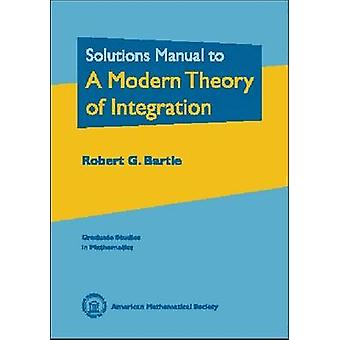 Solutions Manual to a Modern Theory of Integration - 9780821828212 Bo