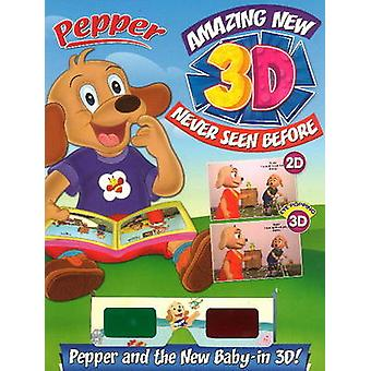 Pepper Amazing New 3D Never Seen Before Pepper Paper & the New Baby b