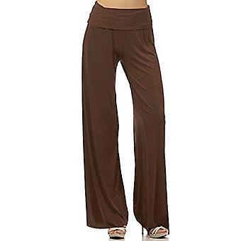 Pantalon unicolore en coton pour femmes de dbg