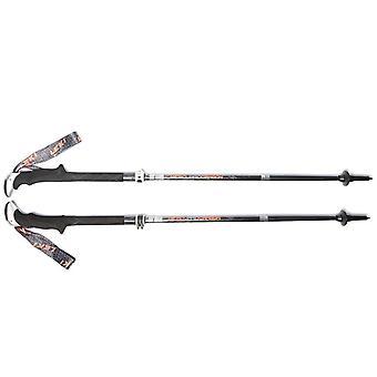 New Leki Micro Vario Carbon Walking Poles Black