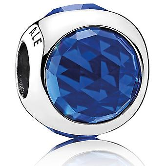 Pandora Royal Blue strålande droppar Charm - 792095NCB