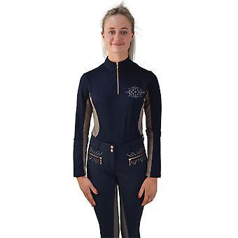 HyFASHION Womens/Ladies Kensington Long Sleeved Sports Shirt