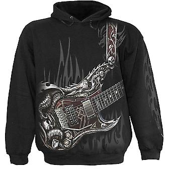 Spiral Direct Gothic AIR GUITAR - Hoody Black|Metal|Reaper|Dragon|Tribal