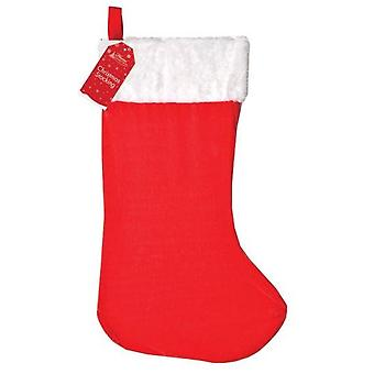 25'' Christmas Super Deluxe Plush Jumbo Stocking