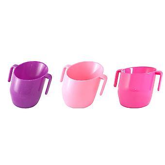 Doidy Cup - Cerise, Purple Sparkle, & Light Pink 3 Item Bundle