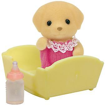 Sylvanian Familias Labrador bebé amarillo