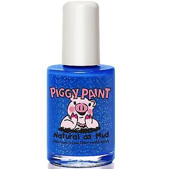 Piggy maling børnevenlig neglelak-mærke Spank'n blå (43) 15ml
