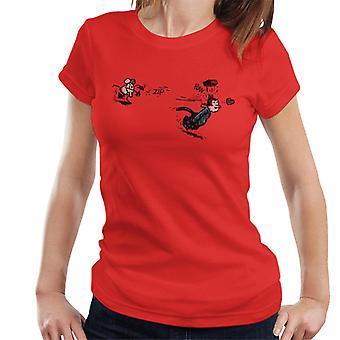 Krazy Kat Ignatz mursten kaste T-shirt til kvinder