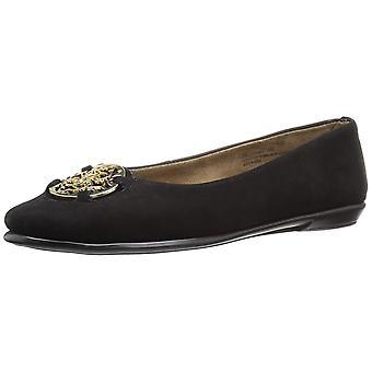 Aerosoles Womens Exhibet läder runda tå Loafers