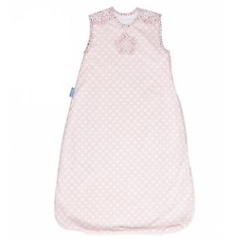 ピンク - 標準 Tog 1.0 (繊維、子供のリネン) に咲く Grobag