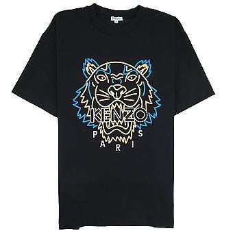 Kenzo Neon Tiger T-shirt svart
