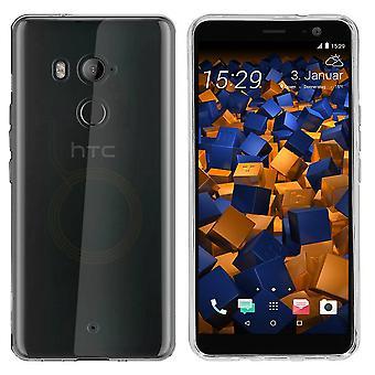 Custodia HTC U11 - Trasparente in silicone - CoolSkin3T